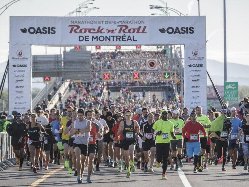 EDLC Au Marathon Rock 'n' Roll Oasis De Montréal 2018